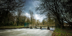River Colne weir (Stuart Feurtado) Tags: longexposure winter tree water river nikon le weir rickmansworth wier d600 aquadrome coln rizfest