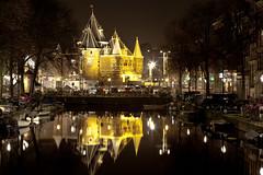 Amsterdam Nieuwmarkt (Peter Kok) Tags: amsterdam nightshots mygearandme blinkagain