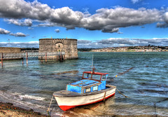 Pembroke Dock Wales (paulworster) Tags: wales coast pembrokeshire hdr pembrokedock photomatix