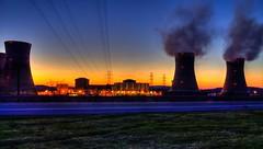 Three Mile Island (The Dying Light) Tags: threemileisland nuclear powerplant nuclearpowerplant pa pennsylvania reactor sunset coolingtower jdavidphotography jdavidphotos weatherchannel travel weatherchanneltravel cnntravel