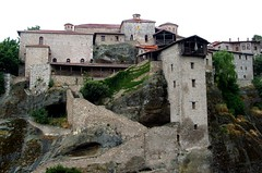 Monasteries of Meteora - Thessaly (G) (ikimuled) Tags: greece meteora thessaly