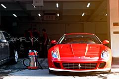 Ferrari 599 GTB 60 F1 (Mrlyx) Tags: light red white house car photoshop ps f1 ferrari panasonic cc 60 gtb 599 fh7 mrlyx  mrlyx