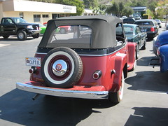Willy's Jeepster. (goldiesguy) Tags: auto classic cars car automobile antique classics automobiles willys jeepster classicrearendscars
