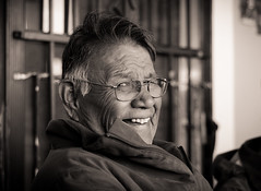 Milton Bluehouse (Jonas Powell) Tags: arizona bw beautiful smile america nikon indian nativeamerican laugh navajo nikkor 50mmf18d reservation genuine d7000 jonasori jonaspowell avtphotographer