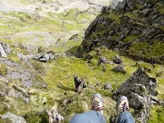 Pyg track to Mt Snowdon