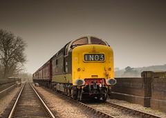 20140402-IMG_3420 (deltic21) Tags: deltic napier british rail preservation english electric 55 regiments racehorses