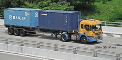 Scania P380 (Waverly Fan) Tags: port truck gateway psa inter haulage huationg