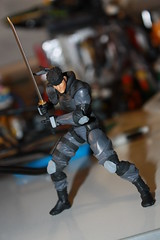"Revol Mini Solid Snake + High Frequency ""Fox"" Blade (Xomak) Tags: toys snake figure grayfox kaiyodo solidsnake metalgearsolid yamaguchikatsuhisa cyborgninja metalgearsolidthetwinsnakes frankjaeger revolmini"