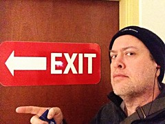 Day 1095 - Day 365: Exit 2014 (knoopie) Tags: selfportrait me december doug exit year3 picturemail iphone 2014 knoop day365 365days knoopie 365more 365daysyear3 day1095