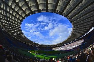 Rugby in Olimpico Stadium, Rome [EXPLORE]