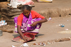 New Delhi spice market (BDphoto1) Tags: poverty people food india outdoors