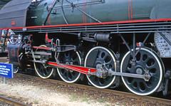 R8333.  141R1244 at Bellinzona. (Ron Fisher) Tags: schweiz switzerland suisse pentax transport eisenbahn rail railway sbb steam mikado bellinzona ch sncf dampflok swissalps 282 141r swissrailways locomotivevapeur 141r1244 railwaysofswitzerland gotthardline