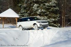2015 Range Rover HSE (Classicpixel (Eric Galton) Photography Portfolio) Tags: winter canada forest truck puddle nikon offroad 4x4 quebec ottawa north gatineau suv landrover rangerover luxury pinetrees drifting hse montebello landroverexperience d800e classicpixel ericgalton