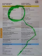 """""""an apple a day keeps the doctor away - An ENSO (Japanese: circle, kreis) a Day ..."""" 3. Februar 2015: Jewellery Exhibition Museum of Applied Arts - MAK Museum für Angewandte Kunst Wien Schmuck 1970-2015 Fritz Maierhofer Retrospektive"""