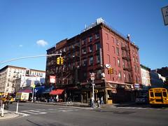201411096 New York City Chelsea (taigatrommelchen) Tags: street city nyc newyorkcity urban usa ny newyork building architecture restaurant chelsea manhattan 20141147