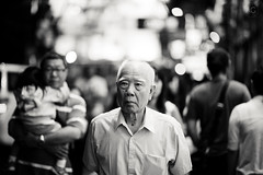 the old man and the bokeh