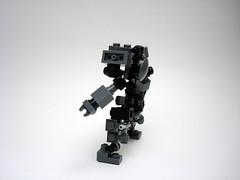 VS-MX-04 'Rangi' - breakdown (profile) (Jay Biquadrate) Tags: lego mecha mech moc microscale mfz mf0 mobileframezero