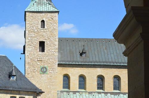 Huysburg (Saxe-Anhalt), abbatiale bénédictine  - 01