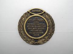 91110 in Edinburgh Waverley (Liam 55022) Tags: plaque memorial edinburgh britain flight battle waverley of 91110