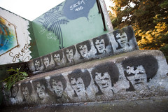 face it (eb78) Tags: california ca streetart graffiti stencil bunker bayarea marinheadlands