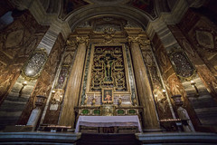 Roma Sant'Ignazio (Paolo Del Rocino) Tags: italy rome tourism church ancient god jesus wideangle chapel tourist altar holy visiting