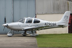 N790SR Gloucestershire Staverton 6 March 2016 (ACW367) Tags: gloucestershire cirrus staverton sr22gtsg3turbo n790sr bluesouthaviationinctrustee