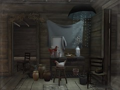 Old Farmhouse (AGodenot) Tags: junk post lostandfound cb keke drd 8f8 serenitystyle shinyshabby fluxsurmer