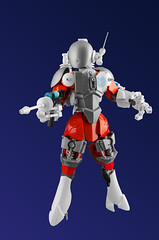 Stella the Space Ranger (DViddy) Tags: actionfigure lego space astronaut retro scifi laser pulp bionicle spacesuit mocs moc constraction bzp ccbs bzpower deevee herofactory dviddy