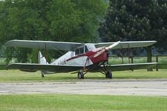 De Havilland Aircraft Co Ltd DH.87B Hornet Moth  G-ADUR (Old Buck Shots) Tags: egsv ks keith sowter