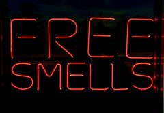 Free Smells neon sign (mrgraphic2) Tags: red sign neon smells freesmells