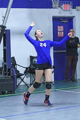 IMG_1549 (SJH Foto) Tags: school girls club high team teens teenager volleyball serve tweens