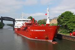 'B Gas Commander' Latchford 30th May 2016 (John Eyres) Tags: bgascommander manchestershipcanal latchford warrington