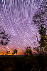 First Star Trail (Nick deLannoy) Tags: usa holland star nikon long exposure michigan trails tokina 11mm f28 iso1600 d5300