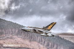 Tornado GR.4 Goldstar (Northern Images Photography) Tags: sky black mountains west wales photography gold star aiden moody loop anniversary tail low 4 year images east special level 100th gr 100 northern tornado goldstar tonka cad mach gr4 bwlch wellock blwch