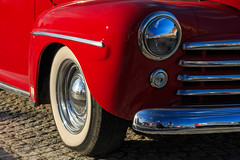 Ford (Tomas hberg) Tags: red ford car deluxe super polarizer 1947 polarizing polariser polfilter askersund