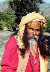 This masquerade.. (draskd) Tags: shimla masquerade sadhu naga himachalpradesh kinnaur attire rampur nh22