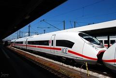 407.009 (Tams Tokai) Tags: ice eisenbahn zug db bahn vonat vast
