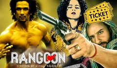 Rangoon Movie Tickets Advanced Booking Online (Tickets Booking) Tags: saifalikhan shahidkapoor kanganaranaut