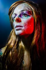 Tallows 2 (Jef Harris) Tags: portrait colorful patterns ottawa makeup muse mua homestudio creativemakeup ottawamodel