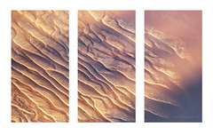 Wyndham - Northern Australia (twistednoodle) Tags: light sunset colour texture sand triptych fineart wallart helicopter kimberley aerials wyndham kununurra kathsalier