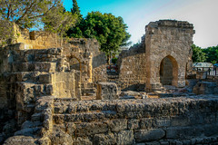 Ruins (Askjell's Photo) Tags: medieval greece rhodes rhodos middleage dodecanese aegeansea dodecaneseislands
