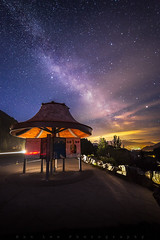 Tantalus Galaxy (Bun Lee) Tags: longexposure trees canada mountains nature stars landscape landscapes bc nightscape britishcolumbia galaxy astrophotography nightscapes galactic milkyway nightskies bunlee bunleephotography