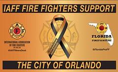 Pray for Orlando (LLST10) Tags: for orlando union pray firefighters iaff