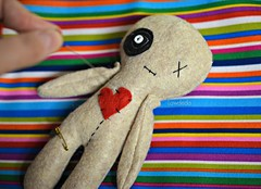 You Do the Voodoo? (Lawdeda ) Tags: morning by wednesday fun this doll with pins want just someone p punch voodoo on seedollyrun picmonkey