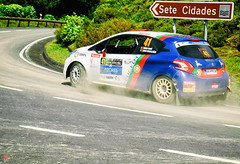 Diogo Gago e Hugo Magalhes, do Peugeot 208 R2 , between stages .. In Azores Airlines Rally 2016 .. (miguel.santos.1029) Tags: race power rally stages hugo r2 fia peugeot diogo between erc azores motorsport autosport setecidades 208 magalhes gago 7cidades fiaerc azoresrally rallypilot
