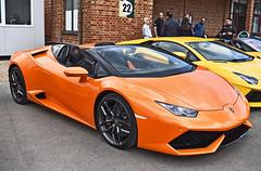 Lamborghini Huracn Spyder (SJB__Photography) Tags: cars car spider italian huracan automotive spyder lamborghini supercar carshow supercars brooklands lambo exoticcar huracn autoitalia 200mph carswithoutlimits