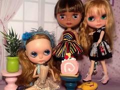 Creative Tabletop Photography: June Toys Theme & Blythe-a-Day May#24: Birthday: Dafina's Birthday: Part 2