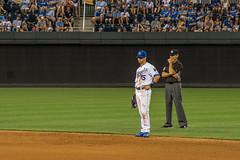 Whit (severalsnakes) Tags: baseball pentax zoom stadium detroit diamond kansascity missouri tigers kc mlb royals umpire ks2 kauffman majorleague secondbase a702104 whitmerrifield saraspaedy