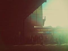 Ingannare le attese (SiMoNa [Che ore sono?]) Tags: people italy rome roma italia trainstation stazione viaggio travelers pendolari viaggiatori romatiburtina