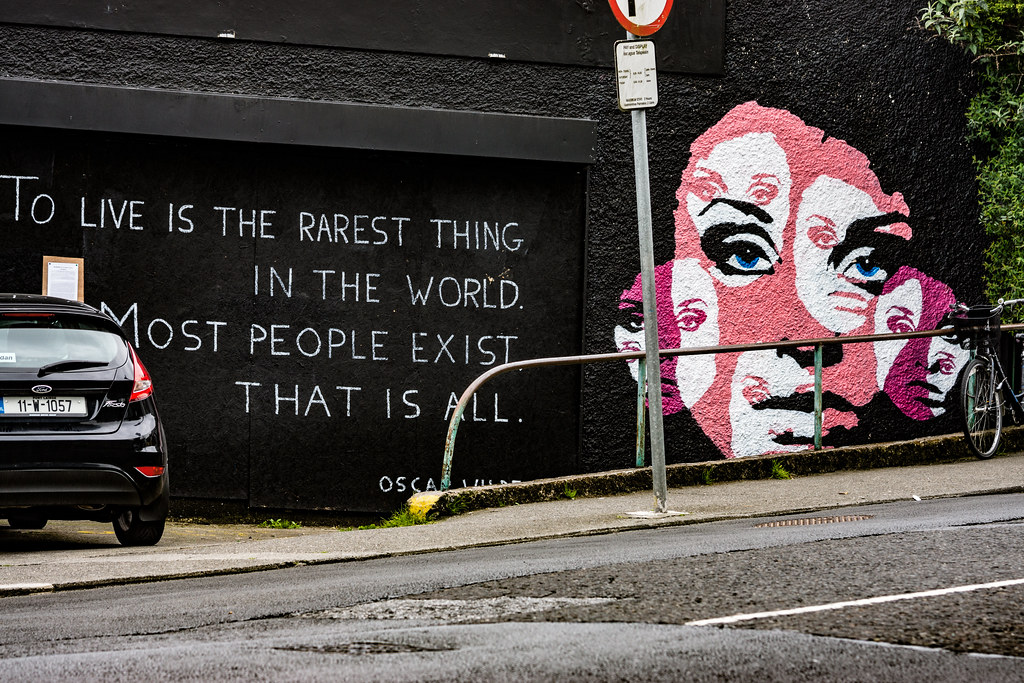 ABOUT A GIRL BY KEMP [WATERFORD WALLS PROJECT AT NEWGATE STREET]-116354